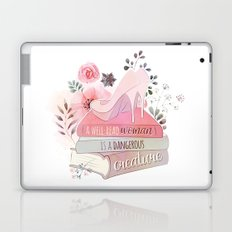 A WELL-READ WOMAN Laptop & iPad Skin
