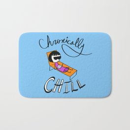 Chronically Chill Bath Mat