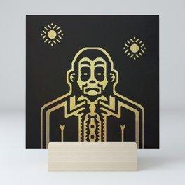 The pimp Mini Art Print