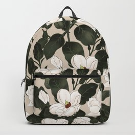 Magnolia fashion pattern Backpack