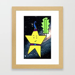 Star Warrior  Framed Art Print