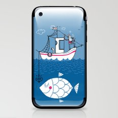 Love Boat Captain iPhone & iPod Skin