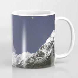 Starry Nights in Mt Cook, New Zealand Coffee Mug