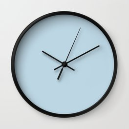 Behr Glacial Stream (Light Pastel Blue) S490-2 Solid Color Wall Clock