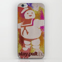 stay.puft.inc iPhone Skin