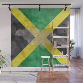 THOUGHTS OF JAMAICA Wall Mural
