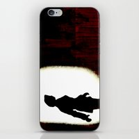 dana scully iPhone & iPod Skins featuring Special Agent Dana Scully by PowerShadowX