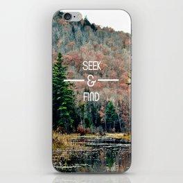 Seek & Find  iPhone Skin