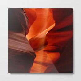 Marvelous Antelope Canyon Colors Metal Print