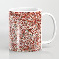 sparkles Mugs featuring Sparkles by Sharon Johnstone