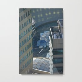 Urban river Metal Print