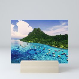 Sea Coral Tropical Island Mini Art Print