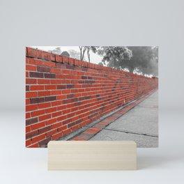 Red Brick Mini Art Print