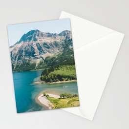 Upper Waterton Lake Stationery Cards
