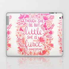 Little & Fierce – Pink Ombré Laptop & iPad Skin