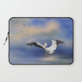Take Off by the Sea Laptop Sleeve