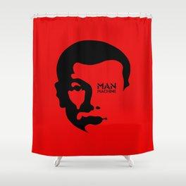 MAN MACHINE (KRAFTWERK!) Shower Curtain