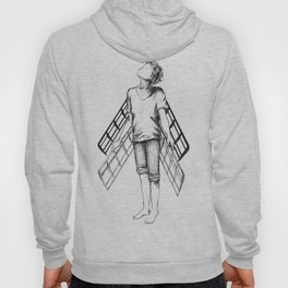 boy draws wings mk-II Hoody