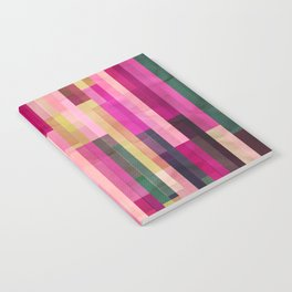 Pinks and Parallels Notebook