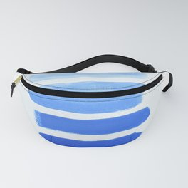 Shades of Blue Fanny Pack