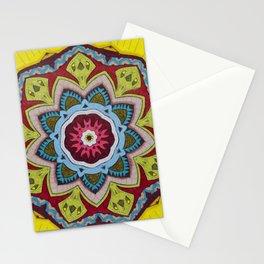 Blessing Mandala - מנדלה ברכה Stationery Cards