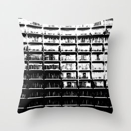 Apartments Just the Same Throw Pillow