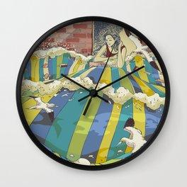 The Losing Wall Wall Clock