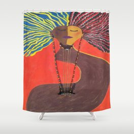 Finely Tuned #1 Shower Curtain