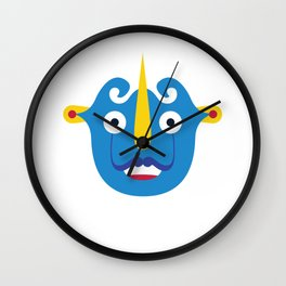 Hiding faces - Serie Toro Wall Clock