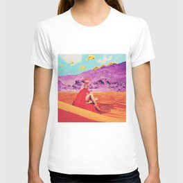 they found the lost lady in red, oracle of the sands T-shirt