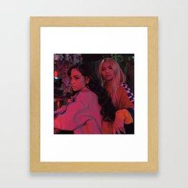 Kehlani x Hayley Kiyoko Framed Art Print