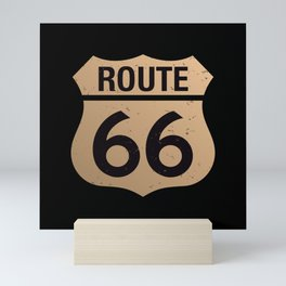 Route 66 Mini Art Print