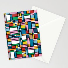 Map Outline Stationery Cards