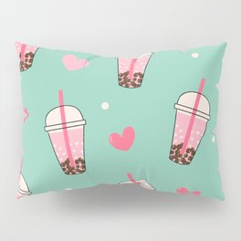 Boba Tea Love Pillow Sham