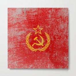 Soviet Metal Print