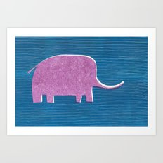 Elephant Child Art Print