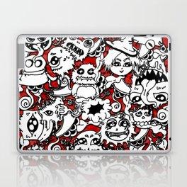 Cute lil monsters doodles Laptop & iPad Skin