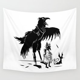 Garon, Queen Kikaan & Bateau -The Other Side of Eve Wall Tapestry