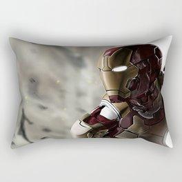 Iron Man age of ultron photoshop painting Rectangular Pillow