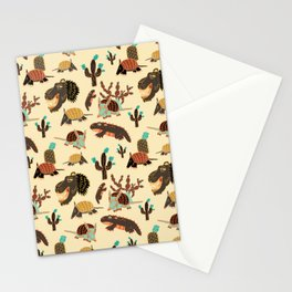 Desert Creatures Stationery Cards