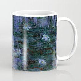Blue Water Lilies Monet 1916- 1919 Coffee Mug
