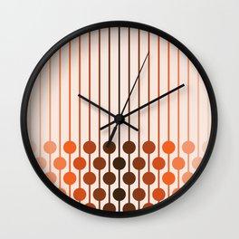 Desert Dusk Sixlet Wall Clock