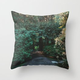 Lost in Portland Throw Pillow