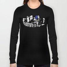 Stonehenge Tardis Long Sleeve T-shirt