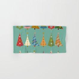 Christmas Trees Hand & Bath Towel