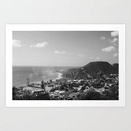 St. Maarten. Art Print