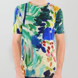 Henri Matisse Landscape at Collioure All Over Graphic Tee