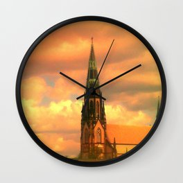 The Steeple Wall Clock