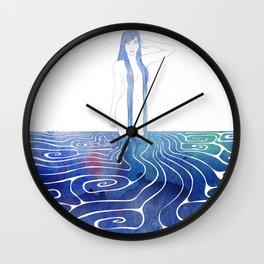 Water Nymph XCI Wall Clock
