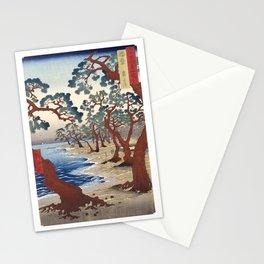 Maiko Beach, Utagawa Hiroshige, 1853 Stationery Cards